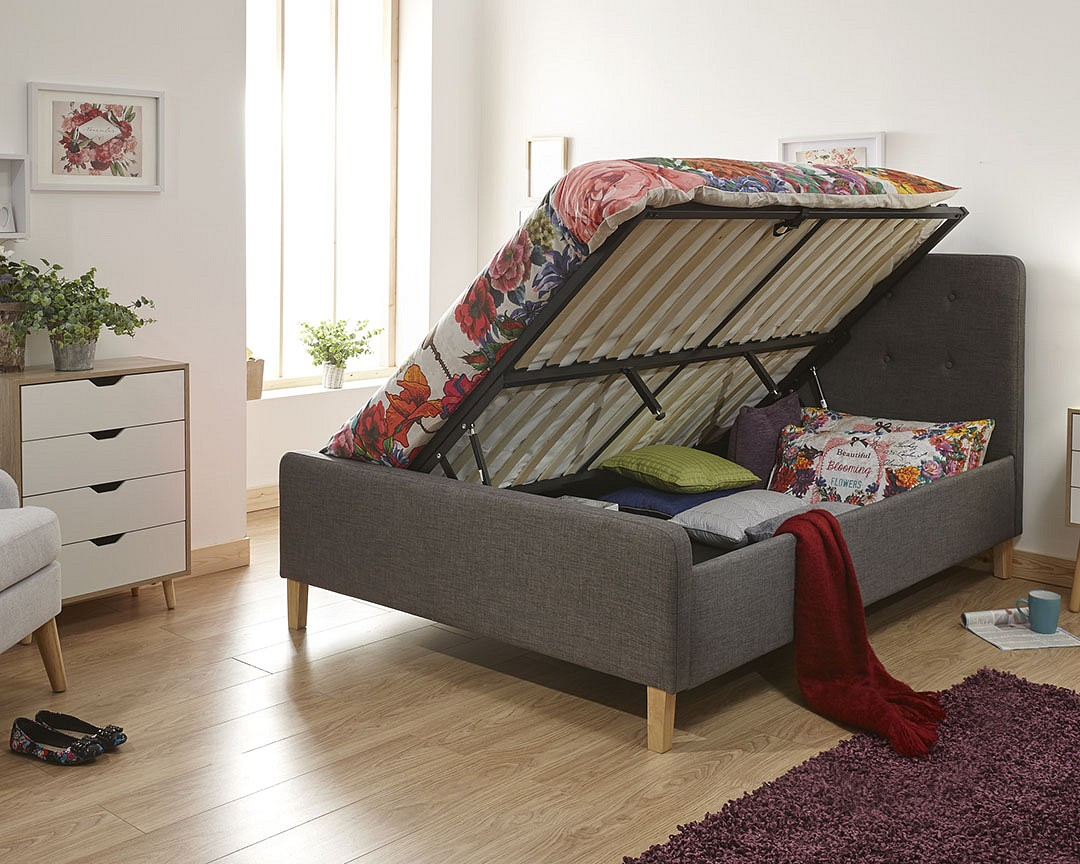 Picture of: Ashbourne Ottoman Bed