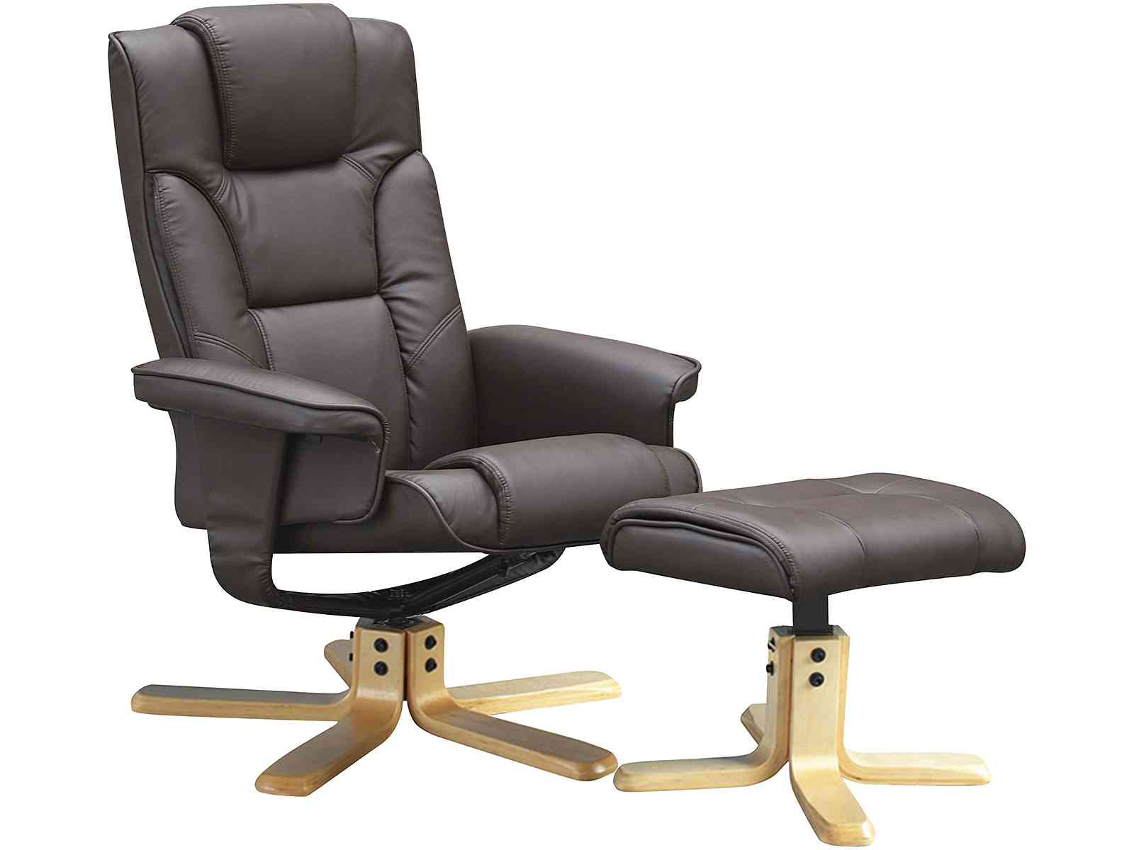 Peachy Gfw The Furniture Warehouse Boston Recliner And Footstool Gamerscity Chair Design For Home Gamerscityorg