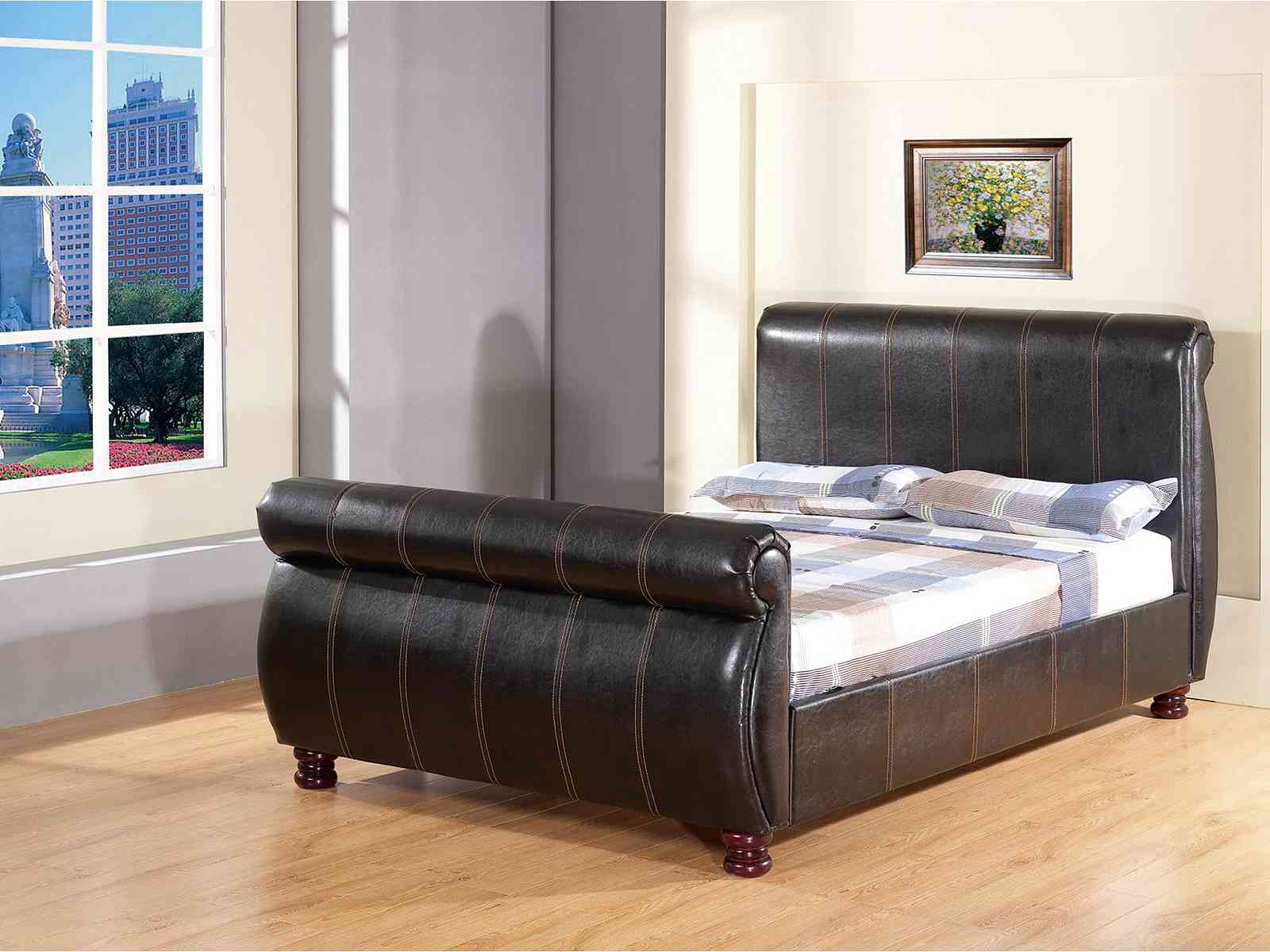 Gfw the furniture warehouse chicago sleigh bedstead for G furniture chicago