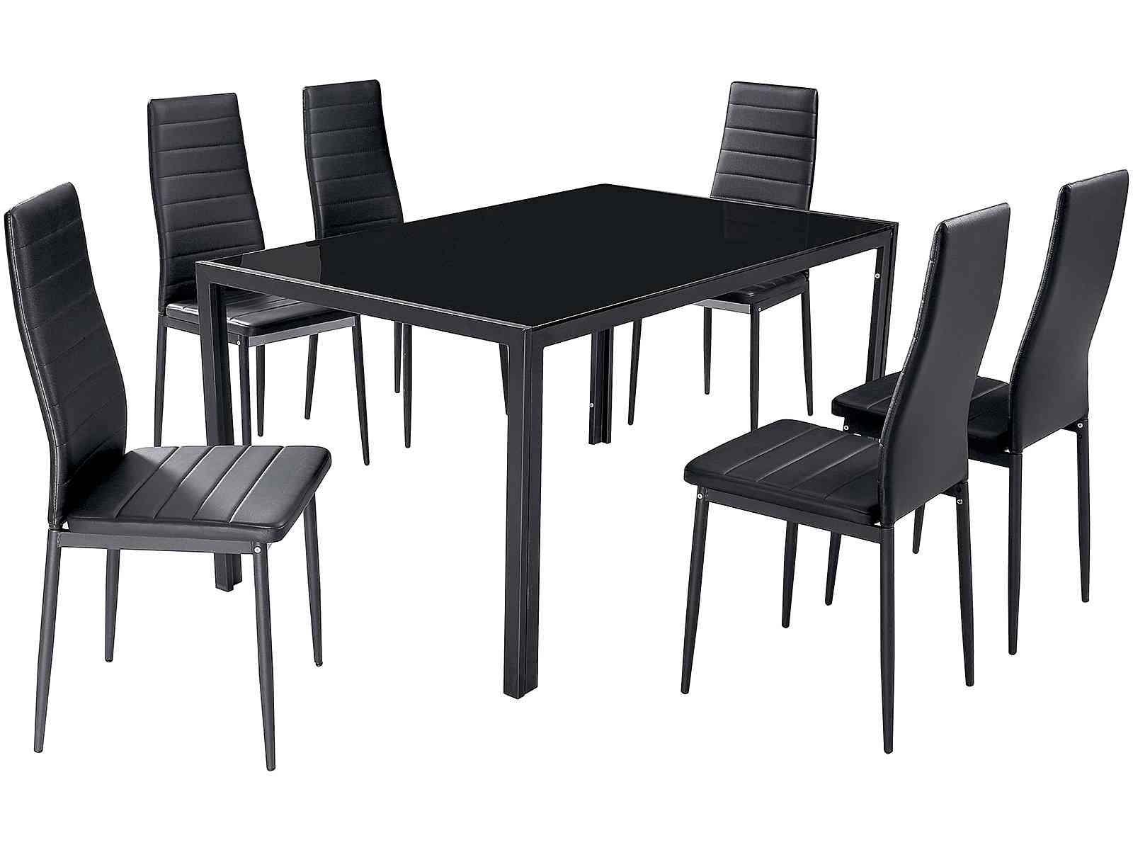 6 Black Dining Chairs Winda 7 Furniture