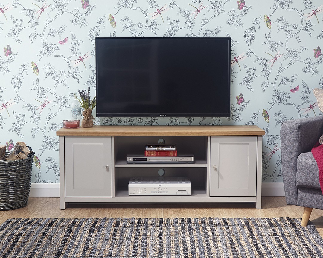 Small Tv Cabinet The Furniture Warehouse Lancaster Grey