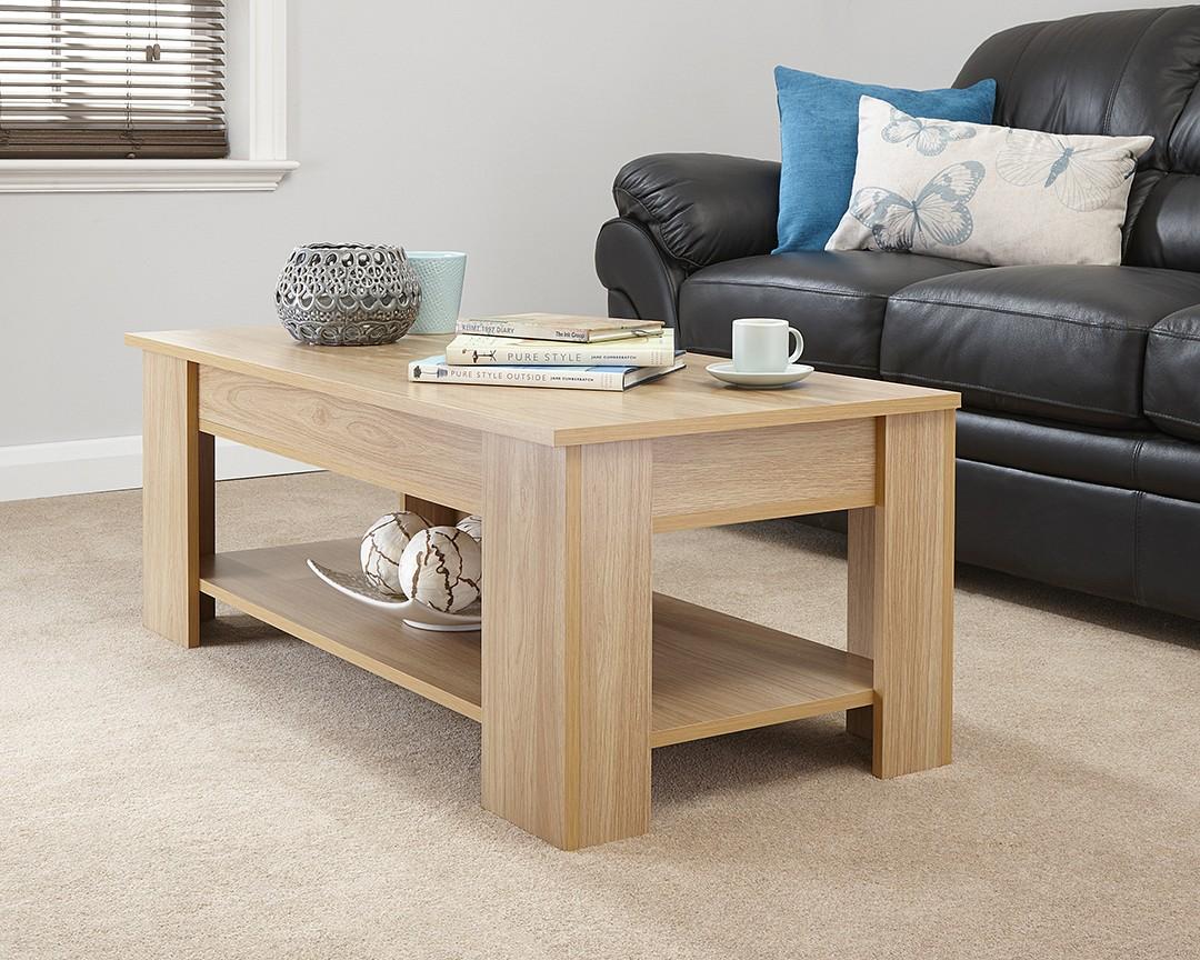 Coffee Tables Lift Top Rectangular