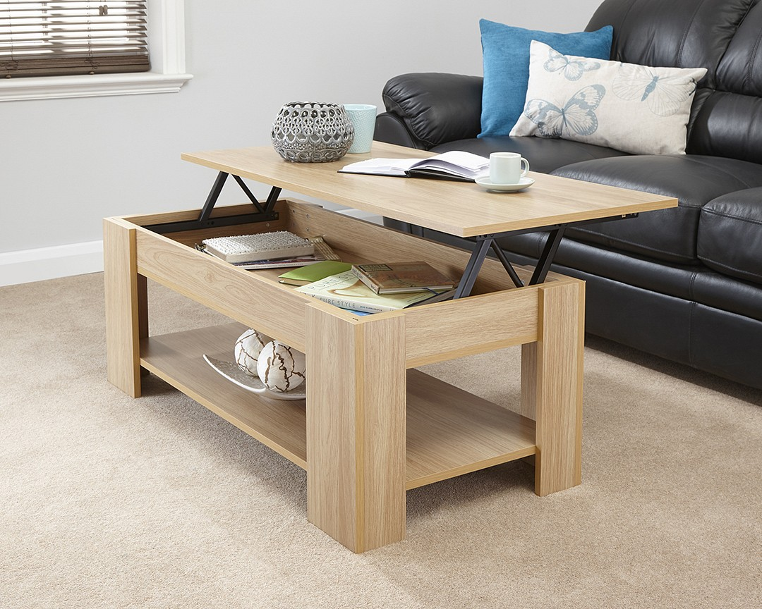 lift up coffee table. Black Bedroom Furniture Sets. Home Design Ideas