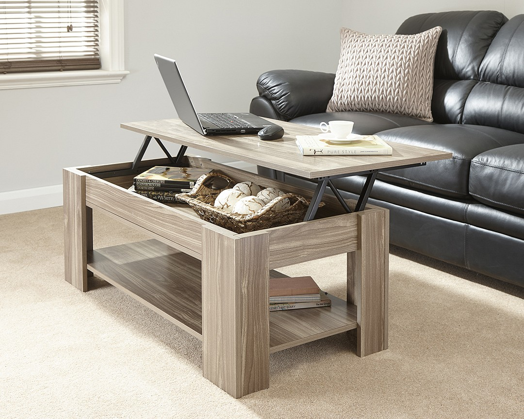 Coffee Tables That Lift Up Loft Living