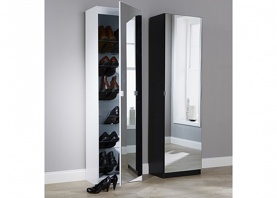 hall adana germania shoe gloss high wardrobe furniture storage en in room living modern cabinet mind white door