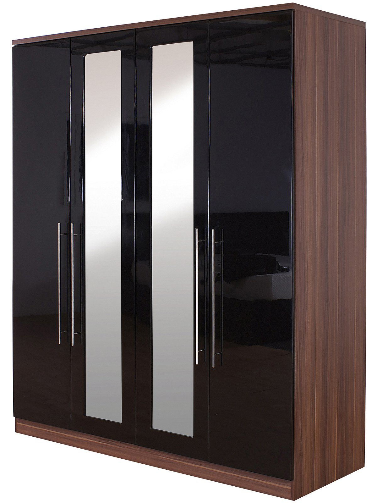 Gfw The Furniture Warehouse Modular 4 Door Robe Mirrors