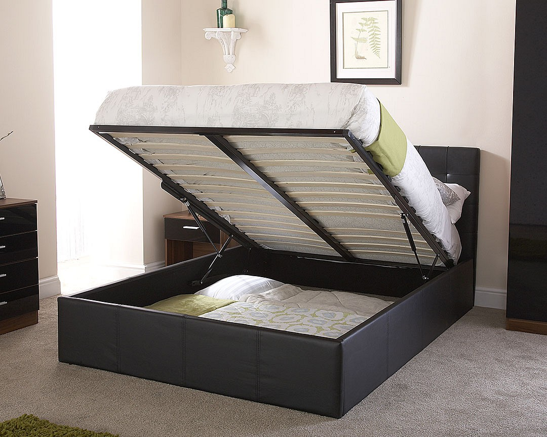 Extra Slim Under Bed Storage: Naples Bedstead