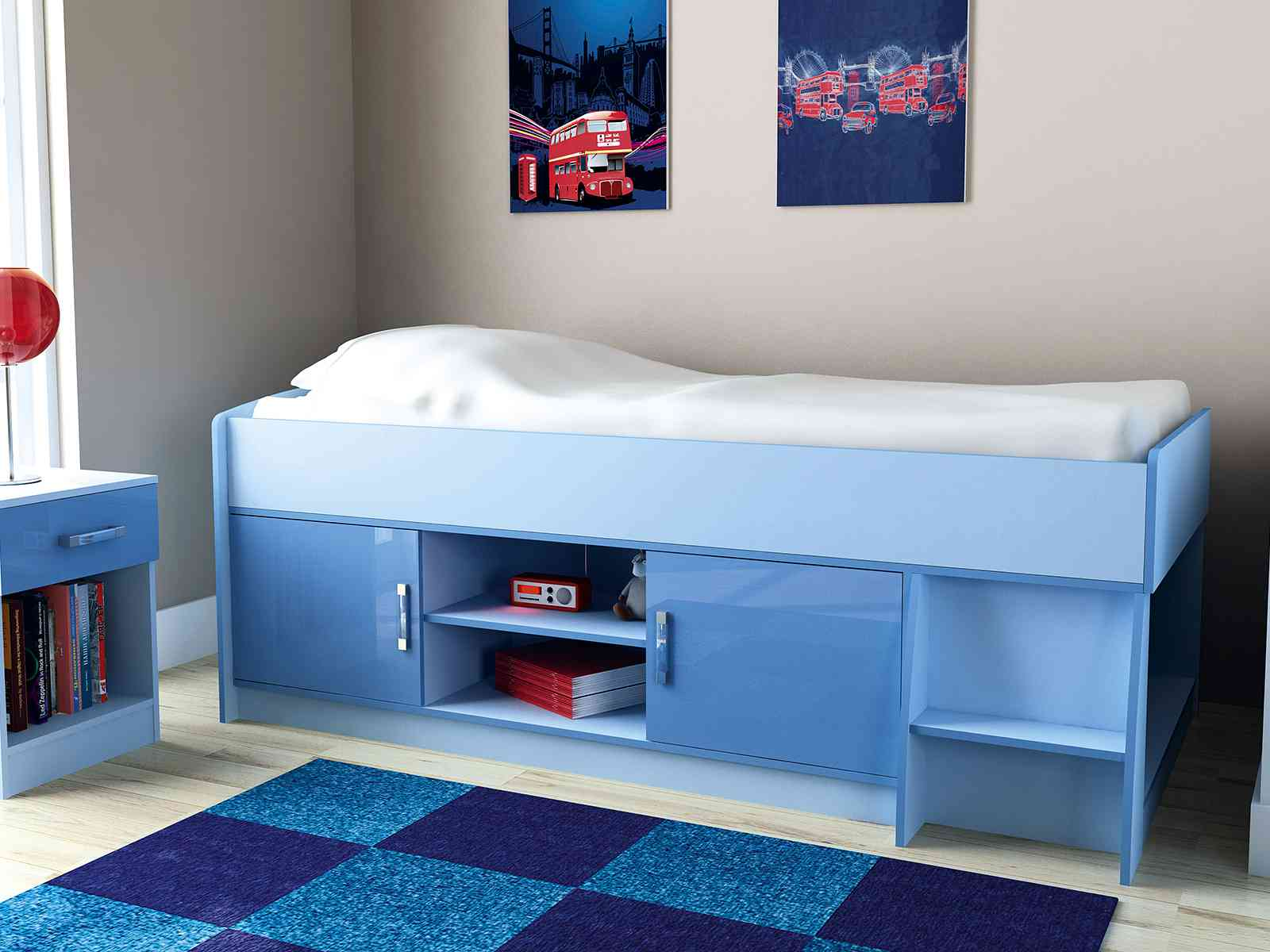 Gfw The Furniture Warehouse Ottawa 2 Tones Cabin Bed