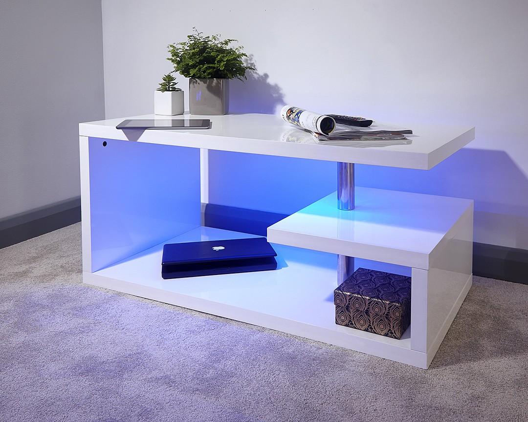 Side Table Tv Unit Greycoffee Table Gfw Furniture Polar